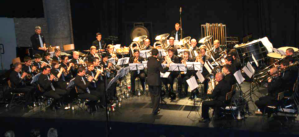 Brassband Hombeek + Raf Van Looveren (26 jan 2014)