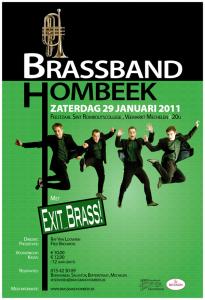affiche concert Exit_Brass!