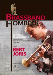 Affiche BBH + Bert Joris 2013