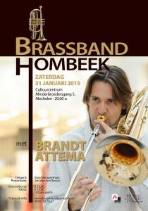 2014 Brassband Hombeek met Brandt Attema